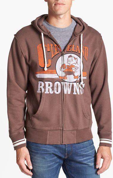 Cleveland browns zip up hoodie
