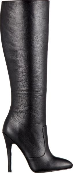 Nine West Braidy Boot in Black (BLACK LEATHER) - Lyst