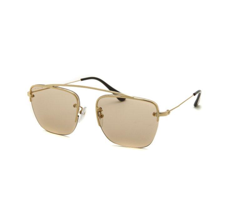 b17fd682b5 ... coupon code for lyst prada sports sunglasses in metallic for men cf5c6  40e32