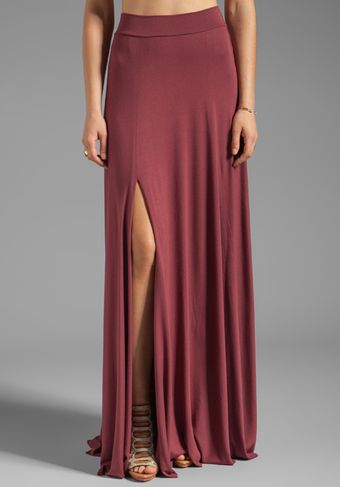 Rachel Pally Josefine Skirt in Wine - Lyst