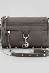 Rebecca Minkoff Mac Clutch Crossbody Bag Elephant - Lyst