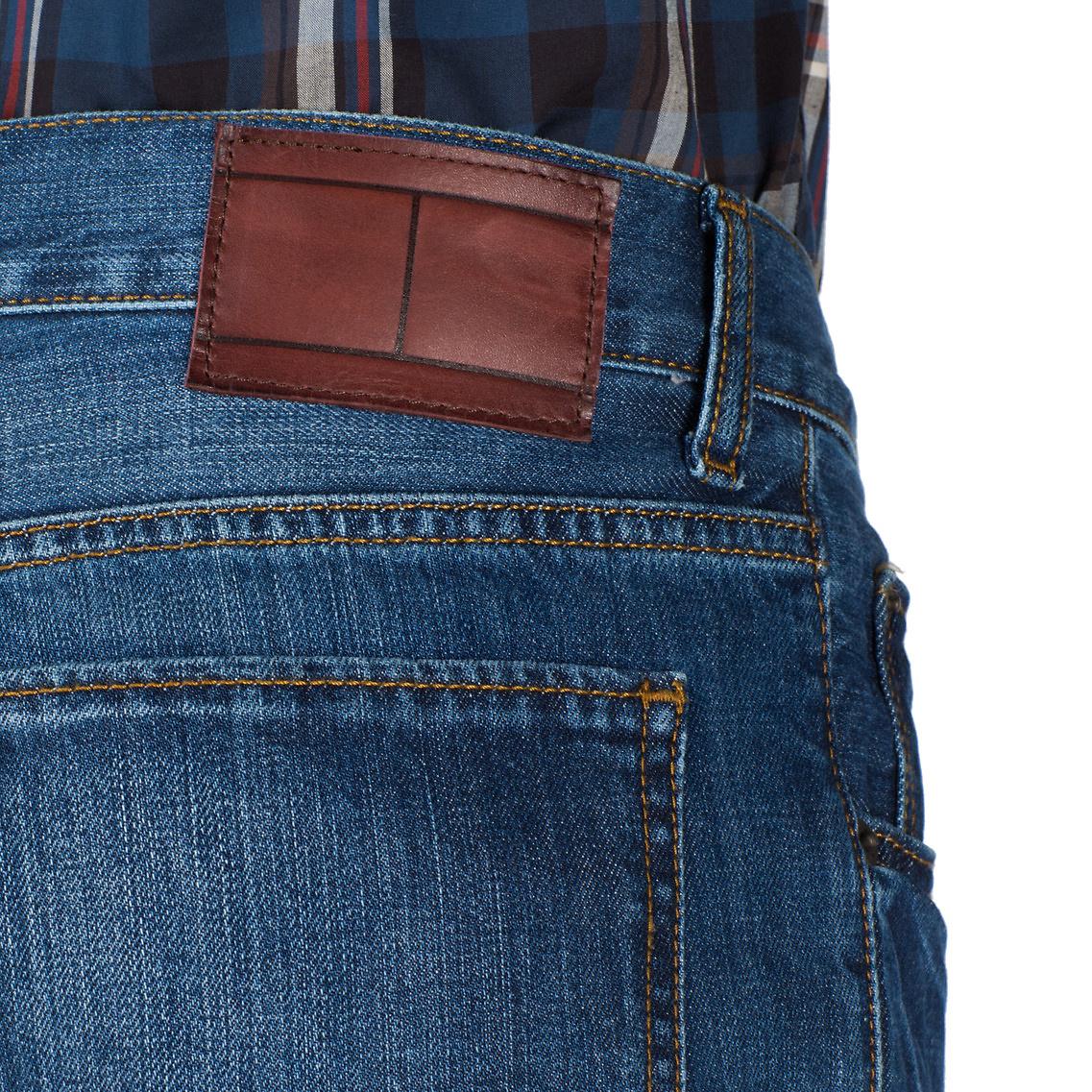 tommy hilfiger mercer regular fit jeans in blue for men lyst. Black Bedroom Furniture Sets. Home Design Ideas