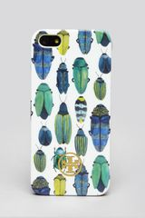 Tory Burch Iphone 5 Case Multi Beetle Hardshell - Lyst