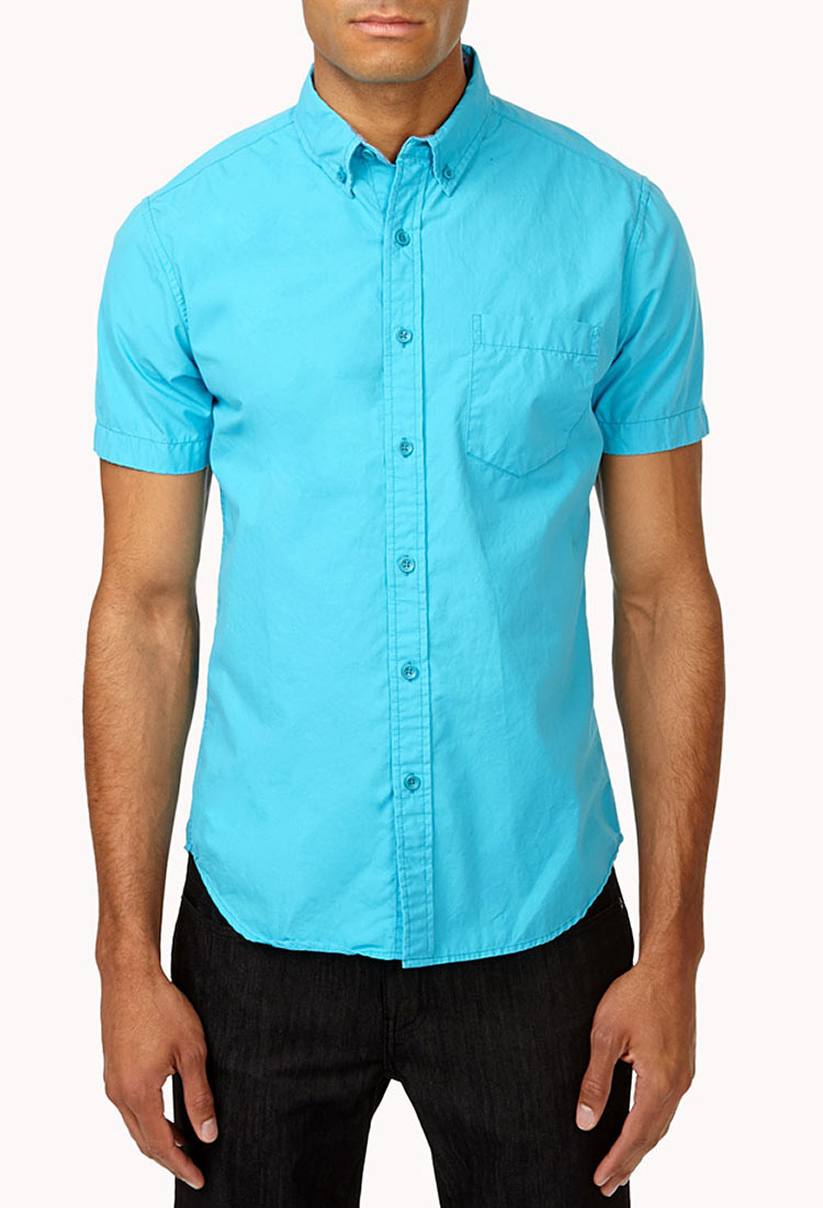 Men S Casual Shirts Short Sleeve