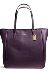 Coach Northsouth City Tote in Saffiano Leather - Lyst