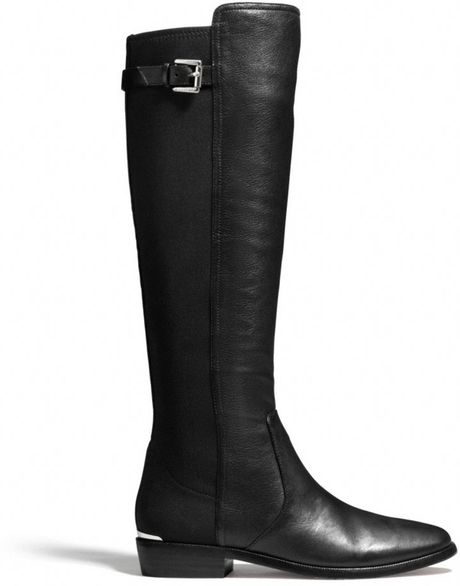 Coach Lilac Boot in Black (BLACK/BLACK) - Lyst