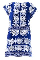 Collette By Collette Dinnigan Paisley Print Silk Dress - Lyst