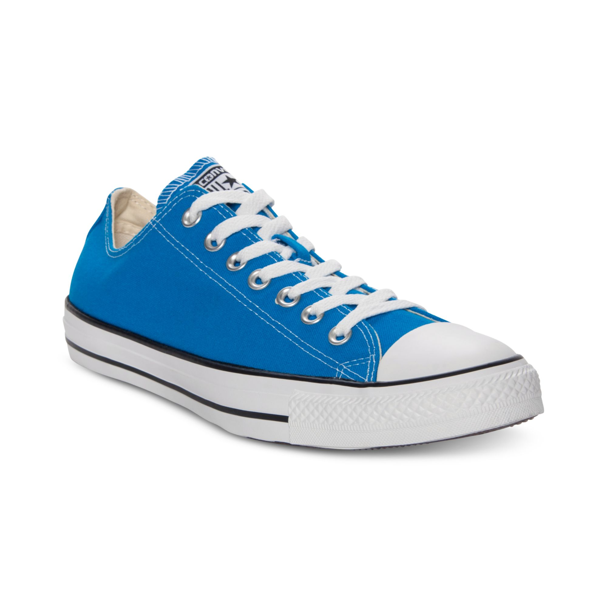 Converse Chuck Taylor Ox Casual Sneakers in Blue for Men