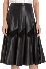 Derek Lam Pleat Front Blouse - Lyst