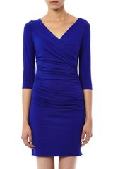 Diane Von Furstenberg Bentley Short Dress - Lyst