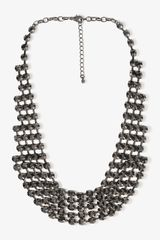 Forever 21 Rhinestone Collar Necklace - Lyst