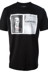 Givenchy Cotton Printed Tshirt - Lyst