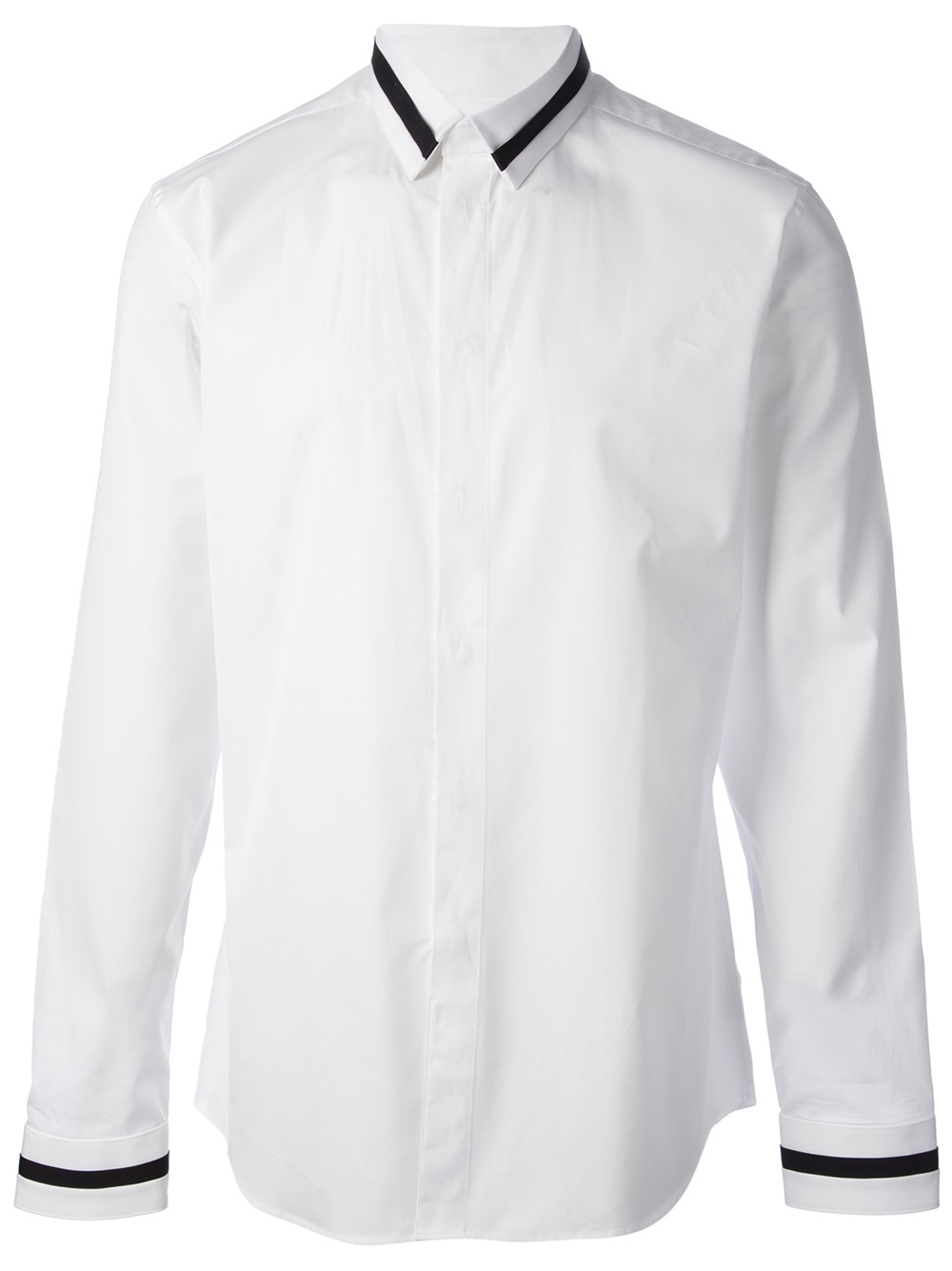givenchy cotton formal shirt in white for men lyst