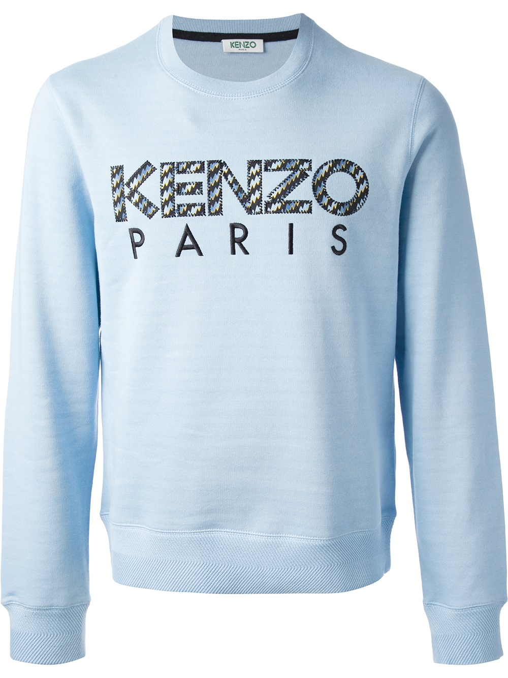 kenzo 39 icon 39 sweater in blue for men lyst. Black Bedroom Furniture Sets. Home Design Ideas