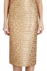 L'Wren Scott Scaled Tank Dress - Lyst