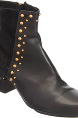 Maiyet Studded Side Zip Ankle Boot - Lyst