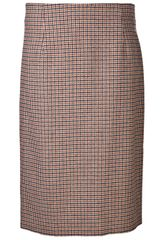 Marc Jacobs Houndstooth Pencil Skirt - Lyst