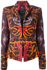 McQ by Alexander McQueen Ottoman Fitted Jacket - Lyst