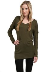 Michael Stars Open Back Tunic - Lyst