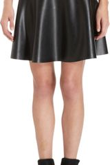 Opening Ceremony Rubbery Mini Skirt - Lyst