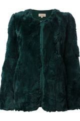 P.a.r.o.s.h. Rabbit Fur Coat - Lyst