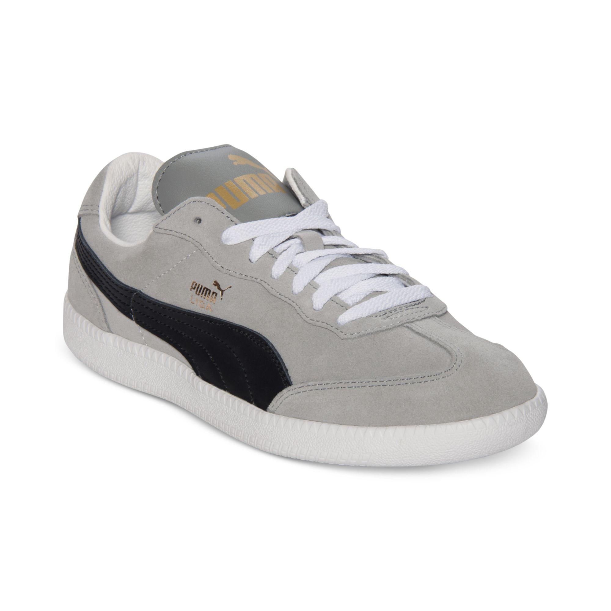 Liga Suede- Grey/Black sneakers