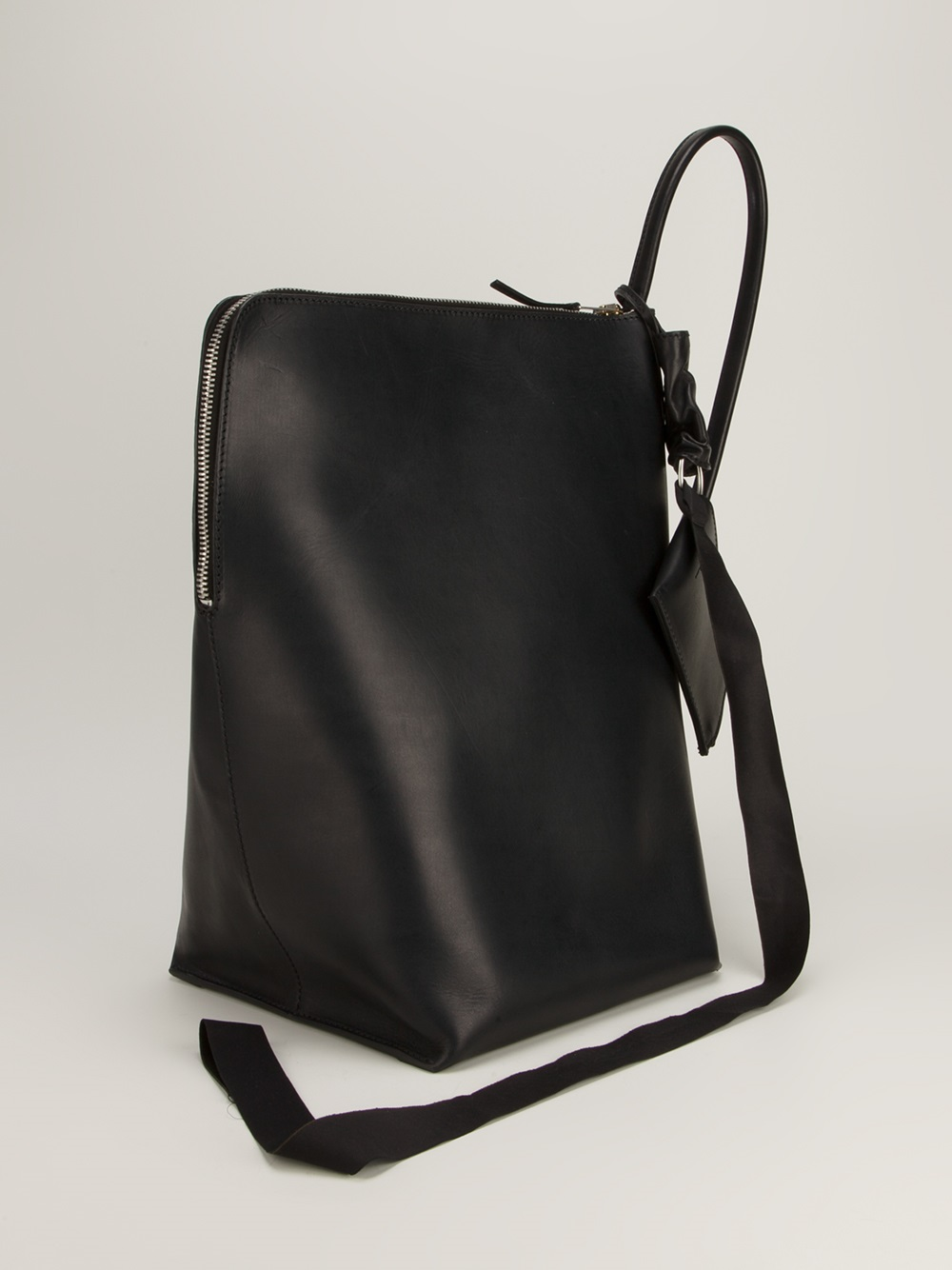 Lyst Rick Owens Single Strap Backpack In Black