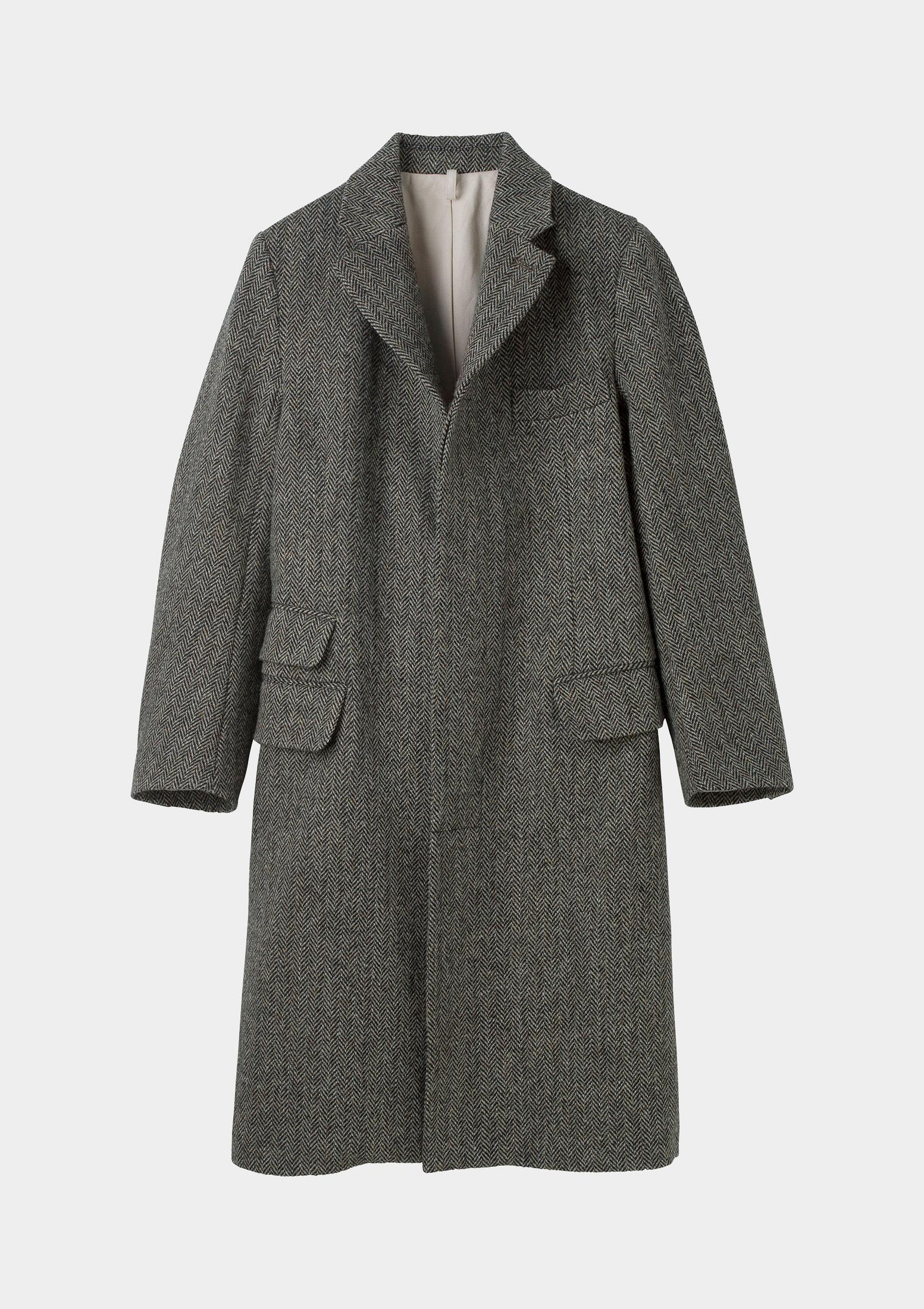 Harris tweed overcoats