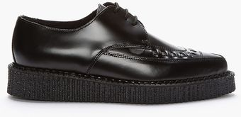Underground Pointed Single Sole Barfly Creepers - Lyst