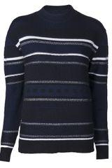 3.1 Phillip Lim Striped Sweater - Lyst