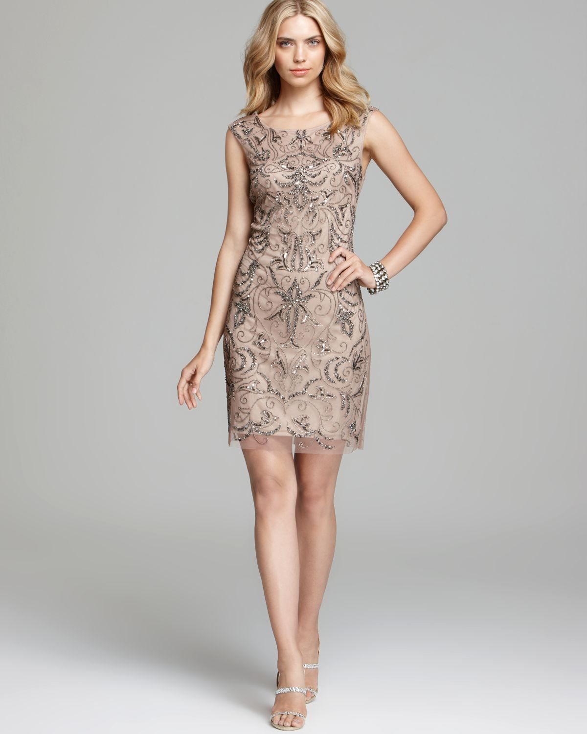 19eafa52bb Gallery. Previously sold at  Bloomingdale s · Women s Adrianna Papell  Sheath Dress ...