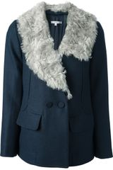 Carven Oversized Jacket - Lyst