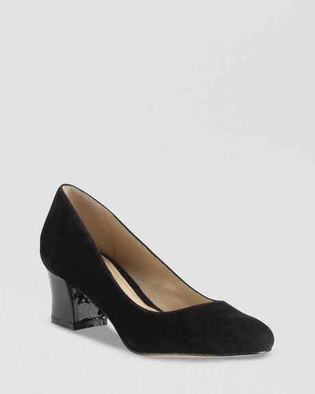 Cole Haan Pumps Pumps Chelsea Flared Low Heel in Black - Lyst
