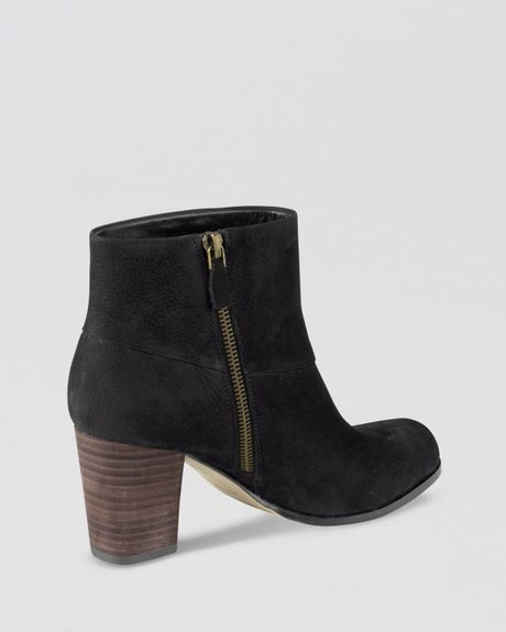 cole haan booties cassidy in blue fatigue lyst