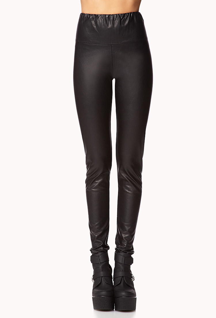 Original Leather Pants For Women Forever 21 Forever 21 Faux Leather Ripped
