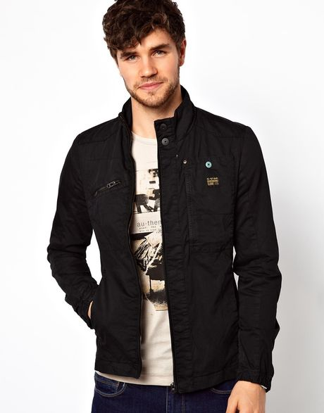 6b7d692032830 G-star Raw Sergeant Jacket In Black For Men