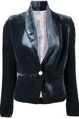 Girl. By Band Of Outsiders Shawl Lapel Blazer - Lyst