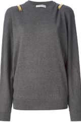 Givenchy Contrast Panel Sweater - Lyst