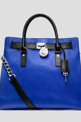 Michael by Michael Kors Tote Hamilton Large North South - Lyst