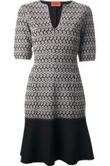 Missoni Textured Short Sleeve Dress - Lyst