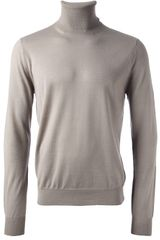Paolo Pecora Turtleneck Sweater - Lyst