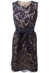 P.a.r.o.s.h. Duchpiz Floral Lace Dress - Lyst
