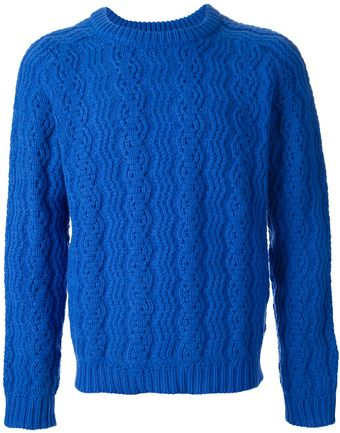 Peter Jensen Cable Knit Jumper - Lyst
