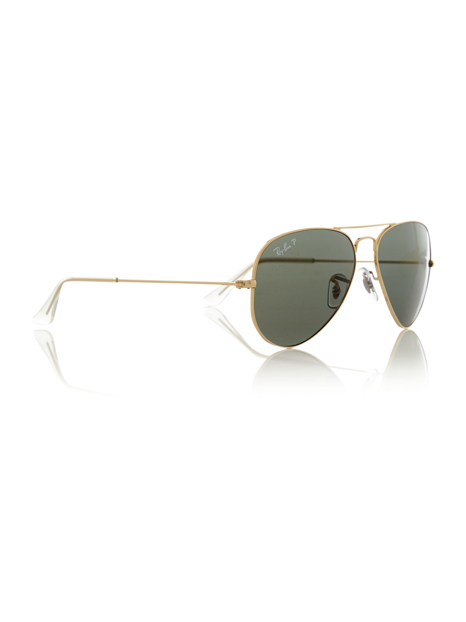 Ray-ban Men`s Arista Large Polarised Aviator Sunglasses in ...