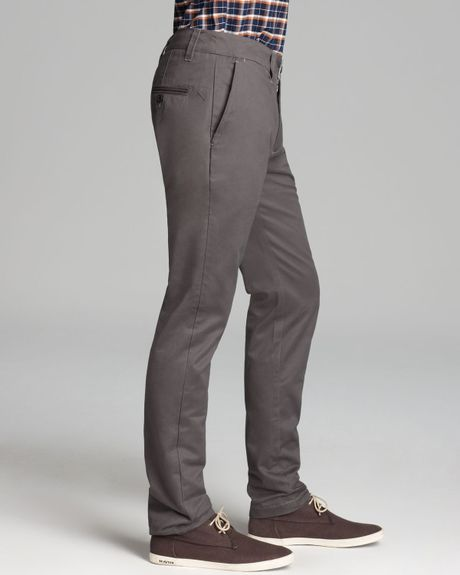 Beautiful Grey Chinos Express Light Gray Finn Slim Chino Pant  Where To Buy