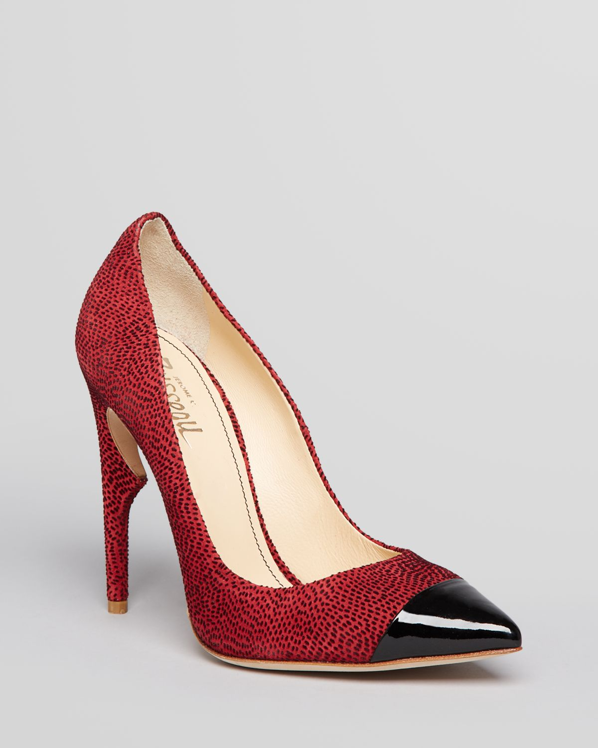 Lyst - Jerome C. Rousseau Pointed Toe Cap Toe Pump Flicker Thorn ...
