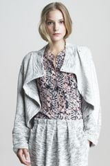See By Chloé Asymmetric Wrap Jacket - Lyst