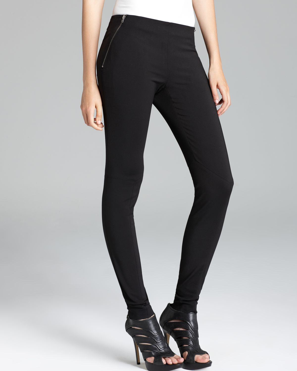 Theory Stretch Pants Keil Optimal in Black | Lyst