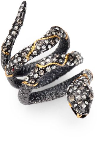 Alexis Bittar Jeweled Snake Ring - Lyst