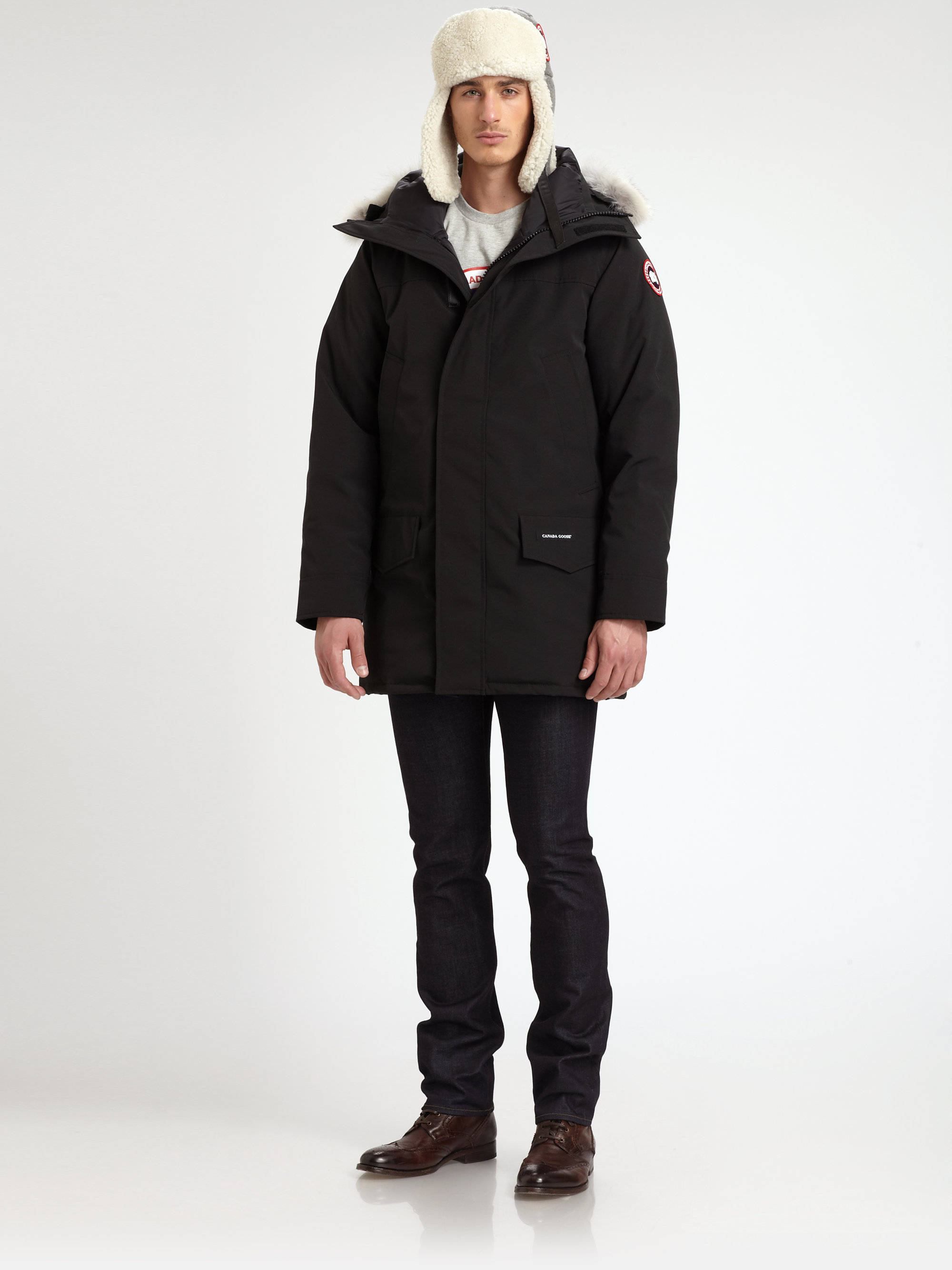 Canada Goose langford parka sale store - Canada goose Langford Parka in Black for Men | Lyst